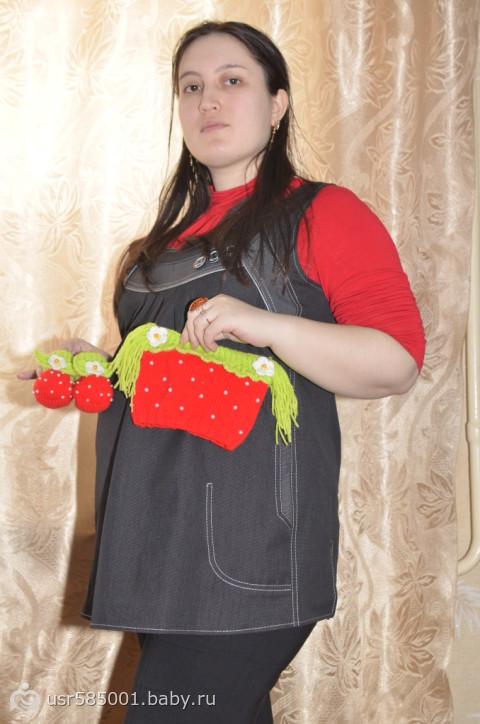 Шапочка ягодка
