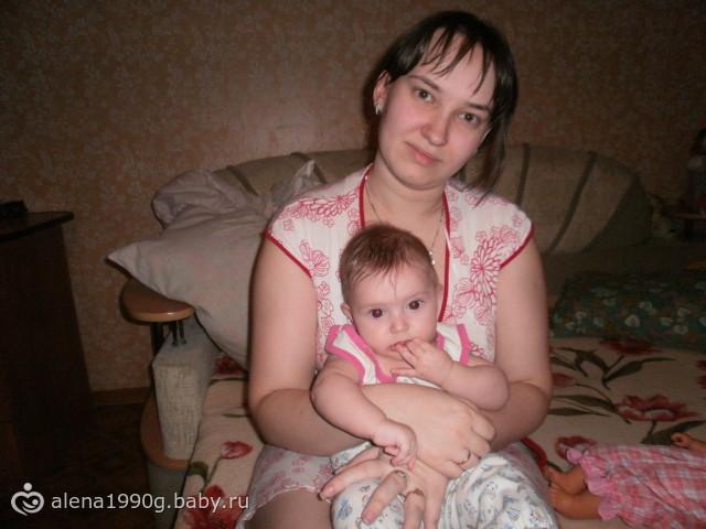 я и мая младшая дочя анжелика