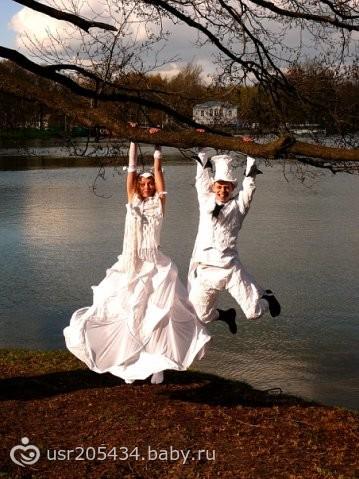 зацените свадебный прикид
