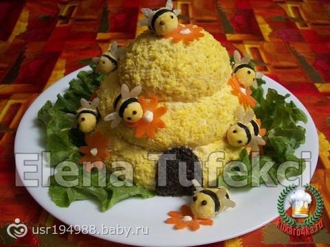 Рецепты с салатов детям