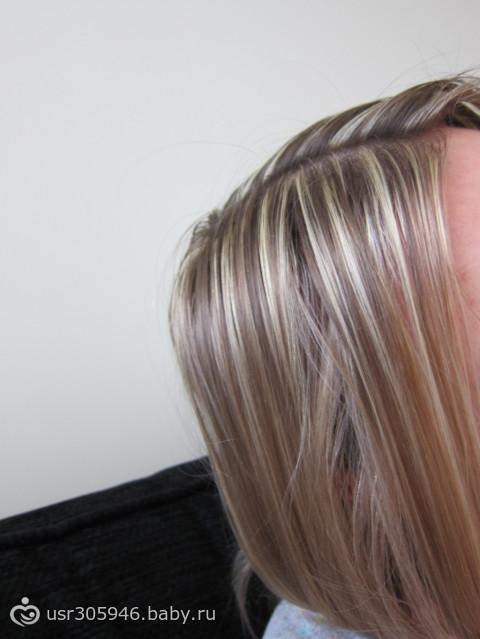 Мелирование на темные волосы без желтизны