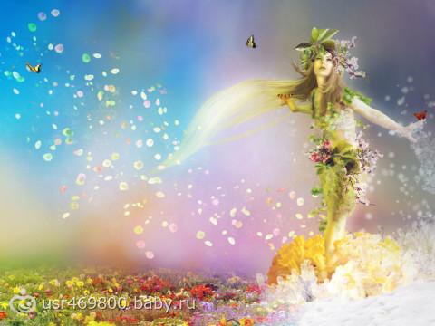 Картинки богинь природы 4 сезонов