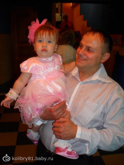 С любимым папой на танцполе