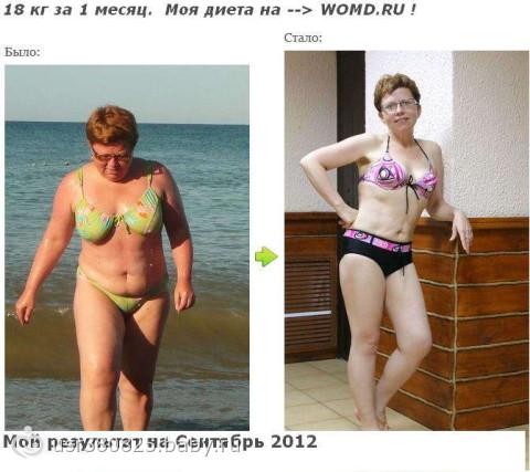 похудеть 20 кг за месяц