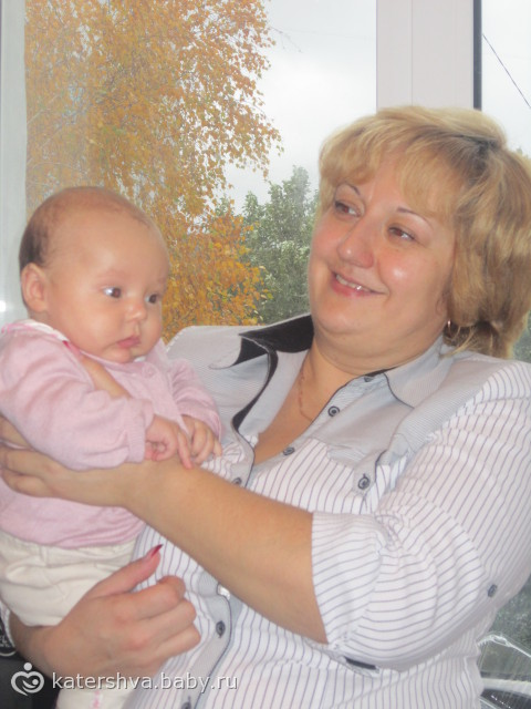 Дашуля и бабушка Ира