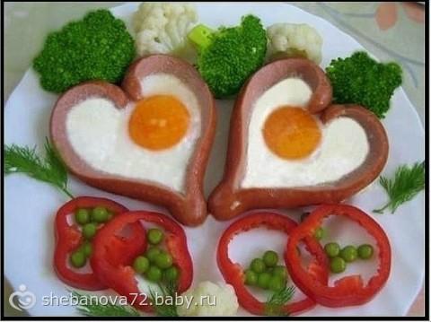 Завтрак на день рождения своими руками