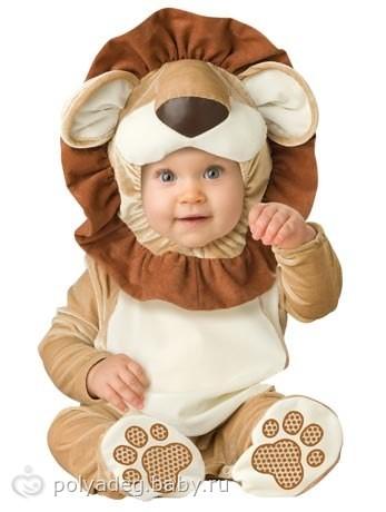 Детские костюмы на новый год от 5 месяцев