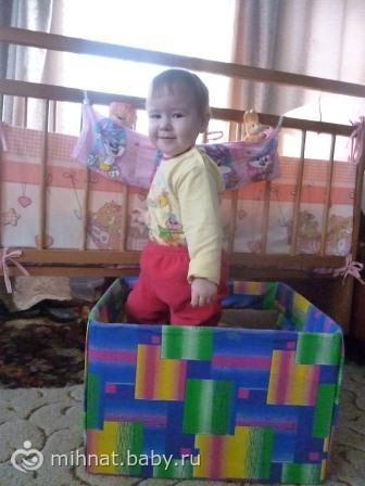 Идеи коробки для игрушек, кармашки на кроватку, развивающей дорожки