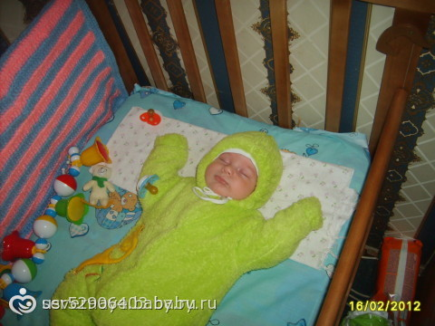 Конкурс:«Спящий малыш»