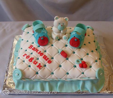 Фото тортов на год ребенку