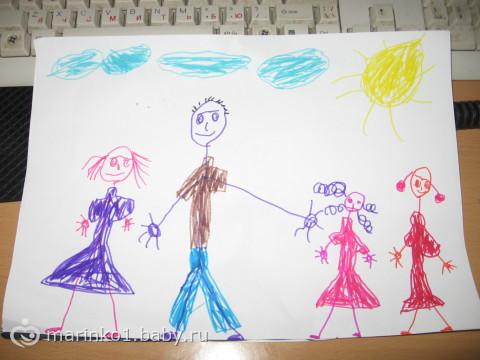 рисунки детей 5 лет фото