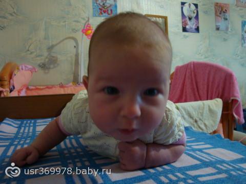 Немного наших фоток с рождения и до полугодика!