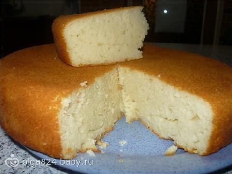 кекс на кефире рецепты с фото в мультиварке