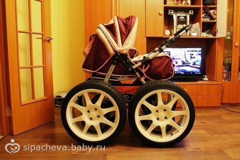 коляска для наших дорог))))