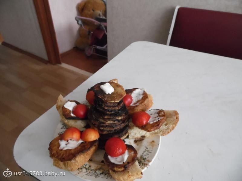 кабачковые бутерброды.