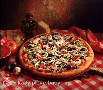 поделитесь рецептом пиццы