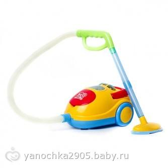 Детский пылесос игрушка купить в москве для детей 2-5