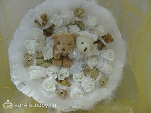 Букетики на свадьбу фото