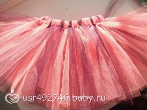 Как сшить юбку из фатина 18