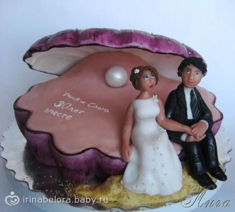 У родителей скоро 30-летие свадьбы-Жемчужная.КАКОЙ ТОРТИК ВЫБРАТЬ?
