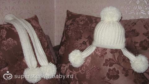 Вязало4ка: зимний комплект для моей принцессы…