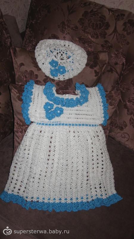 Вязало4ка: платьице для доченьки...