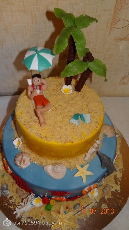 Гавайский тортик)))