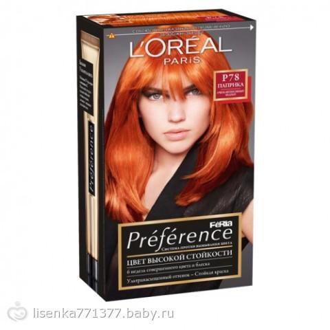 краска рыжая для волос гарньер