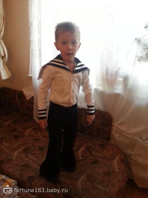 Как сделать костюм моряка своими руками
