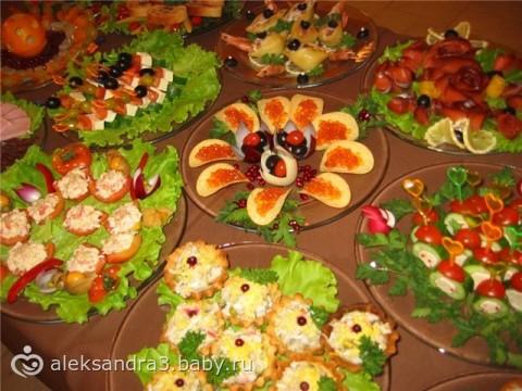 Закуски с фото и рецептами для гостей