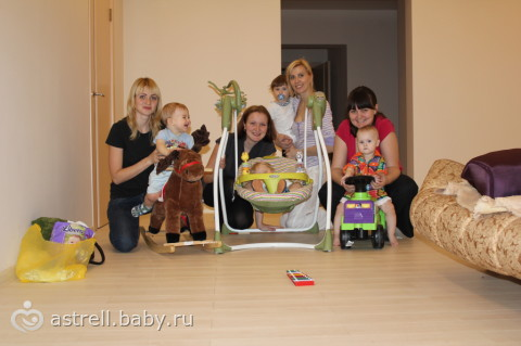 Встреча бэбирушек ИРКУТСК 10,12,2012 — фото!)))