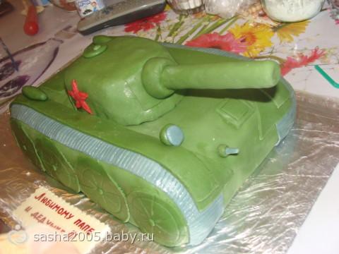 Похоже на танк?? Торт!!!