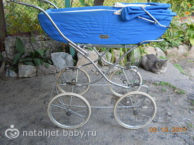 детские коляски 1980 года фото