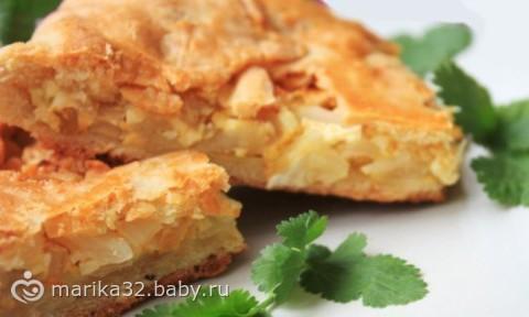Капустный пирог для ленивых как я))))