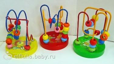Игрушки развивающие 1 год