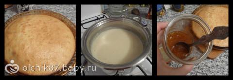 Тортик с орешками)))