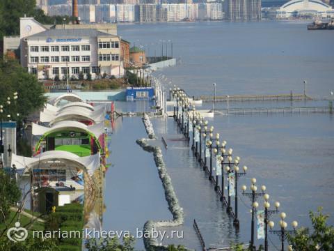 наводнение в хабаровске 2013 фото