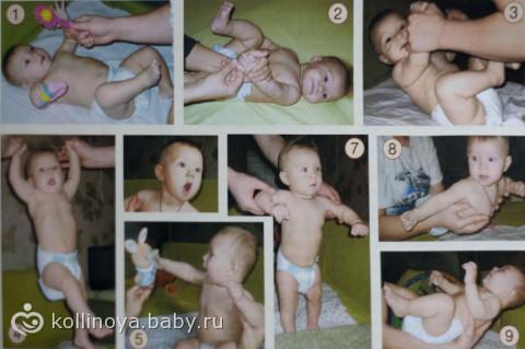 Когда можно делать гимнастику новорожденному