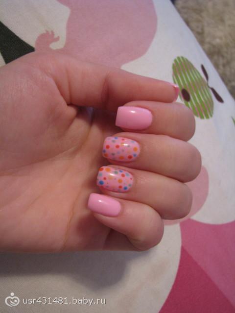 мои ногти)