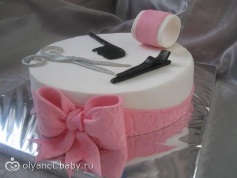 Фото тортов для парикмахера