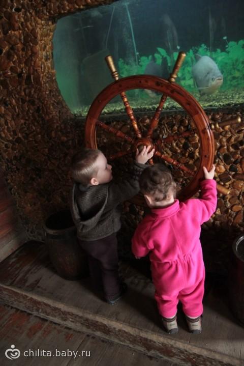 Наш поход в «аквариум»