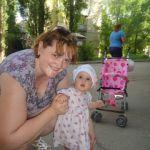 Вот оно какое мамино счастье)))